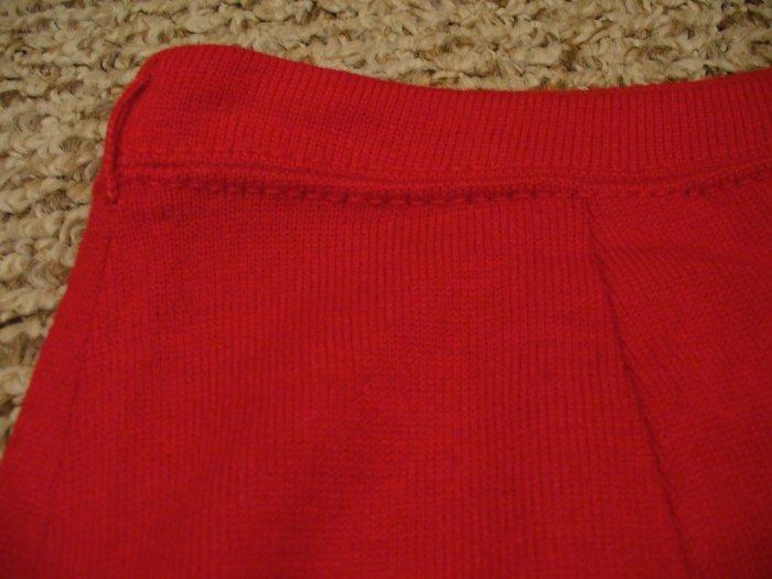 Vintage red Jantzen pencil skirt (S)