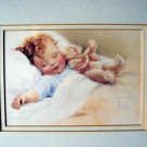"Bessie Pease Gutmann Print: ""Happy Dreams"""