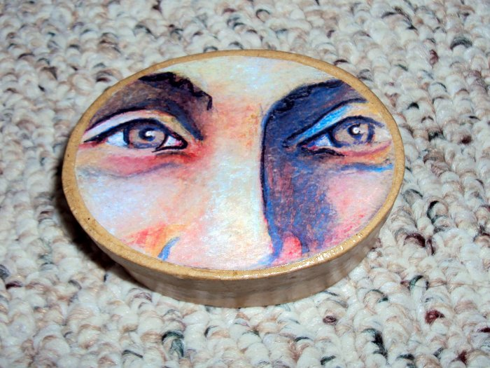 Hazel Eyes Custom Face Box