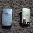 2 Vintage Lighters -one Zippo &  one unknown brand