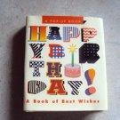 Happy Birthday! mini pop-up gift book