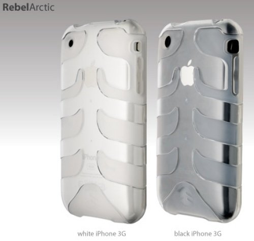 SwitchEasy SW-CAP-REB-A Rebel Case For iPhone 3G (Arctic)