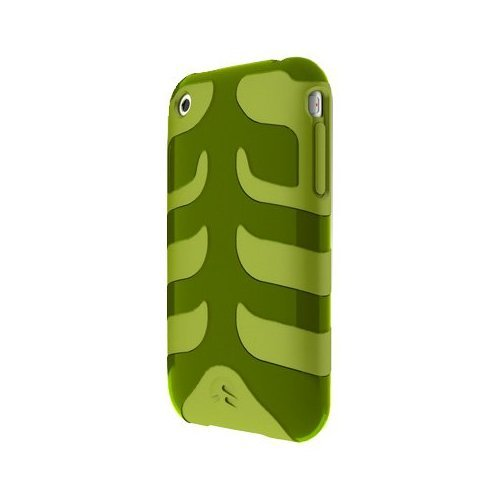 SwitchEasy SW-CAP-REB-O Rebel Case For iPhone 3G (Olive)