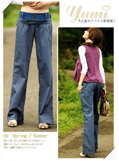 Cotton Hemp Pants