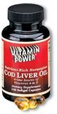 Cod Liver Oil Softgel Capsules- (250 count)  #302U