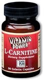 L-Carnitine -(30 Count) 250mg  #959H