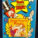 McDonald's What Am I Going To Be For Halloween? Happy Meal (1995) - #1 Ronald Makes It Magic MIP