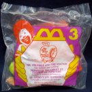 McDonald's Busy World Of Richard Scarry Happy Meal (1995) - #3 Mr. Frumble & Fire Station MIP