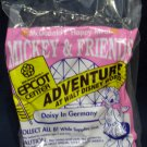 McDonald's Mickey & Friends Epcot '94 Adventure Happy Meal (1994) - Daisy In Germany MIP