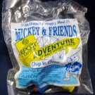 McDonald's Mickey & Friends Epcot '94 Adventure Happy Meal (1994) - Chip In China MIP