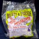 McDonald's Mickey & Friends Epcot '94 Adventure Happy Meal (1994) - Dale In Morocco MIP