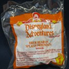 McDonald's Disneyland Adventures Happy Meal (1995) - #1 Brer Bear On Splash Mountain MIP