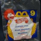 McDonald's Hot Wheels Happy Meal (1995) - #9 Lightning Speed MIP