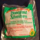 McDonald's Disneyland Adventures Happy Meal (1995) - #6 Winnie The Pooh On Big Thunder Mountain MIP