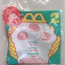 McDonald's Littlest Pet Shop Happy Meal (1996) - #2 Unicorn MIP