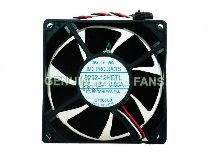 Genuine Dell Fan Dimension 160L Temperature Control CPU Case Fan 92x32mm Dell 3-pin