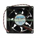Genuine Dell Precision Workstation 350 CPU Fan W0101 G8242 92x38mm Temperature Control Fan