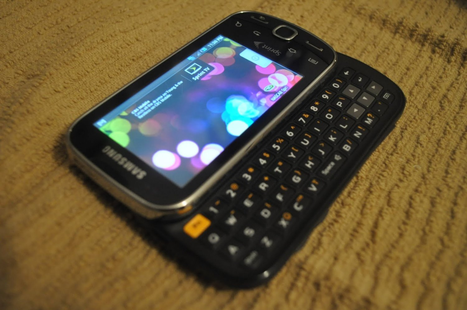 SPRINT SAMSUNG INTERCEPT TOUCH SCREEN ANDROID