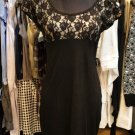 Rose Lace Fitted Dress