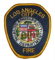 Los Angeles Fire Department Shoulder Patch