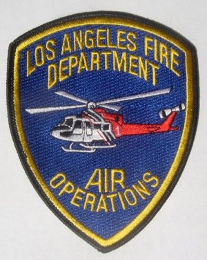 Official LAFD Air Ops Patch