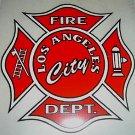 Los Angeles City Fire Dept. Maltese Car