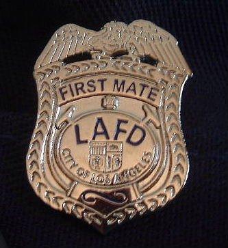 LAFD First Mate Lapel Pin