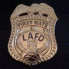 LAFD First Mate Lapel Pin