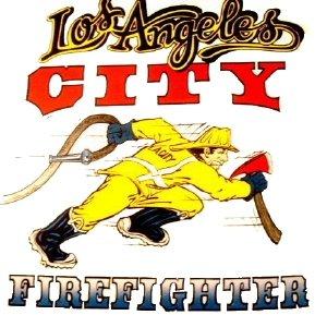 LAFD Running FireFighter T-Shirt Size 2XL