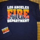 Navy LAFD Skyline T-Shirt Size Large