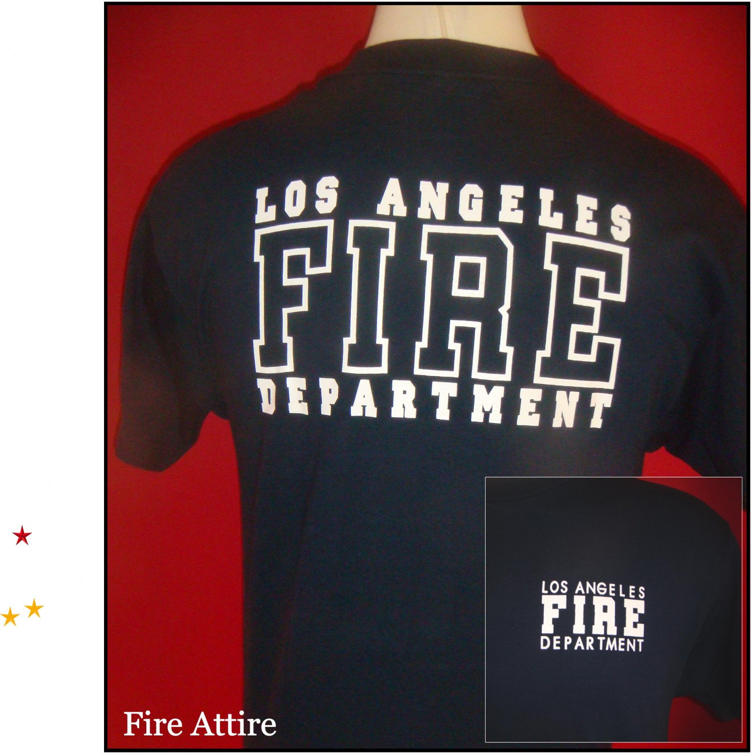 LAFD Uniform Shirt  Size 2XL