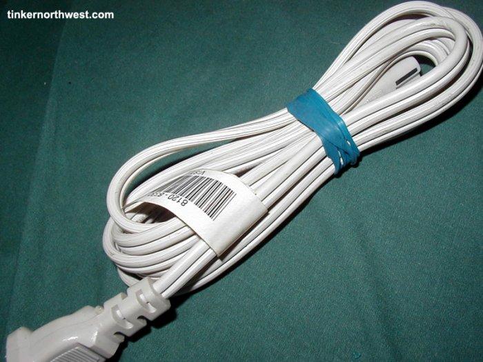 HP Deskjet AC Power Cord Two Prong 8120-8900