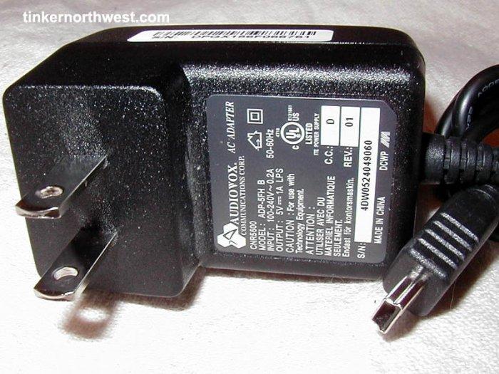 Audiovox SMT 5600 Charger ADP-5FH B, MDA, Dash, SDA