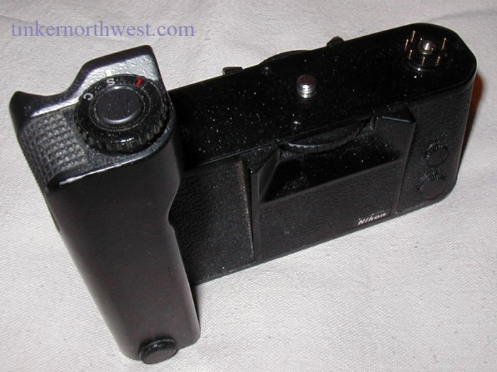 Nikon MD4 Motor Drive for Nikon F3 HP Camera