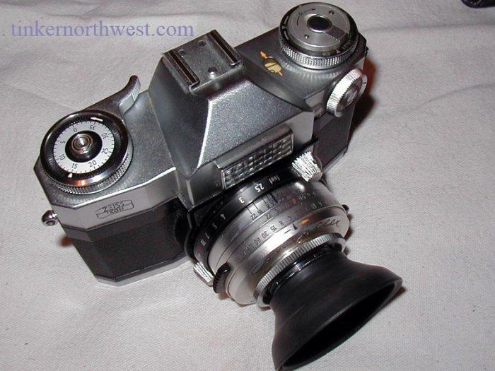 Zeiss Ikon Contaflex Super Vintage 35mm Film Camera