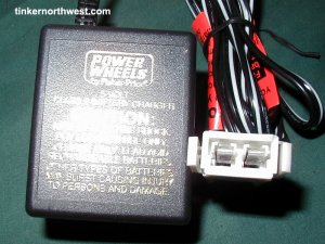 Power Wheels C-6080 00801-0975 6-Volt Charger