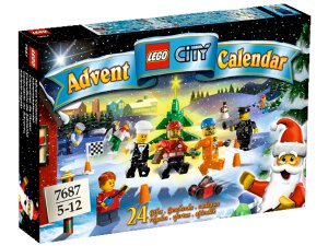 Lego Advent Calendar 2009 # 7687, 257 pieces