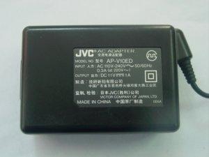 JVC AP-V10ED AC Power Adapter 11V 1A