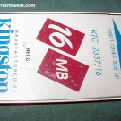 Kingston KTC 2337/16 Compaq LTE 4/25 4/33 PC Card