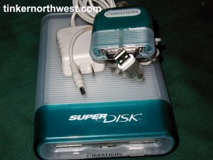 Imation USB External SuperDisk Drive SD-USB-M