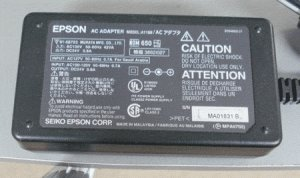 AC Power Adapter Epson A110B for Printer, Scanner