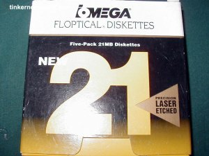 Iomega SO700494, 21 Megabyte Floptical Optical Floppy