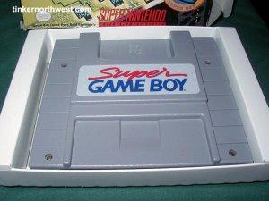 SNES Super Nintendo Gameboy Game Adapter