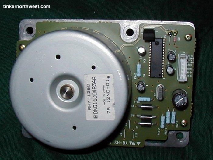 HP LaserJet 5si 8000 Optra N Main Motor RH7-1260