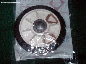 Drum Roller Support Wheel 349241 Whirlpool FSP