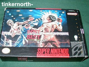 SNES SUPER NINTENDO VIDEO GAME Best of Best Karate BOX