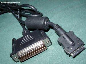 Adaptec SCSI PCMCIA Cable