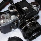 Nikon F2 Camera with DP1 Finder 50mm 1:1.4 Lens