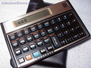 Hewlett Packard HP 12C Financial Calculator HP12C
