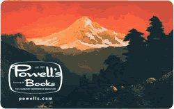 Powell's Books $ 100 Gift Cerificate No EXP No Fees